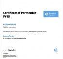 HP Certificate of Partnership